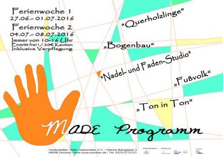 Sommerferienprogramm: HandMade